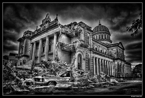 Catholic Cathedral after Christchurch Earthquakes | by Geoff Trotter