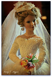 Vintage Bride Doll With Bouquet Of Flowers. | by Dan Around Town
