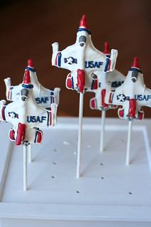 Custom Thunderbird Jets Cake Pops | by Sweet Lauren Cakes