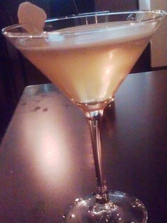 ginger soju brown sugar martini | by hapamezzo