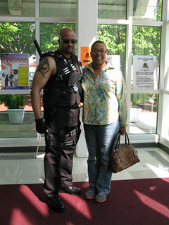 Fred Holt as Blade at ECBACC 1st annual AfriCoz contest | by museumofuncutfunk