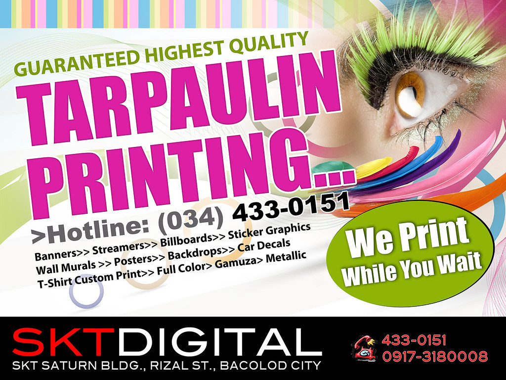 Tarpaulin Printing For Inquiries Calltext 09173180008 O Flickr