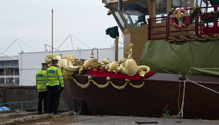 Royal Barge - Prow under inspection | by Soma Pics