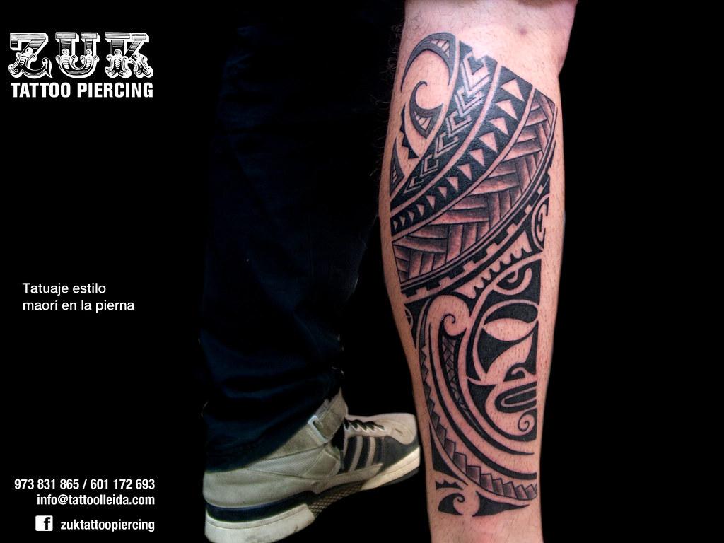 Maori Tattoo En La Pierna - Best Tattoo Ideas