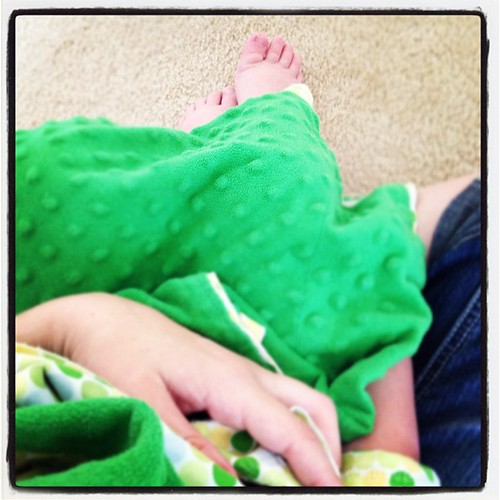 11 am - cuddles with a little guy that needs some mama time. #10on10 | by Erin - TwoMoreSeconds