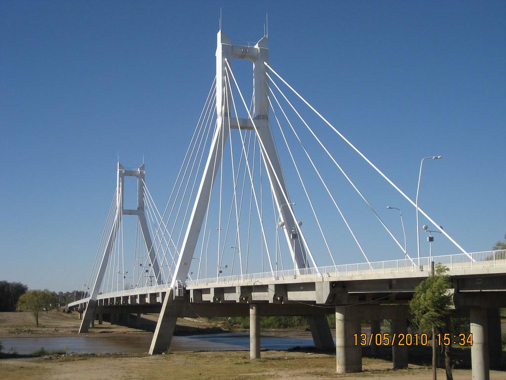 Puente Atirantado sobre el Río Chocancharava - Río Cuarto … | Flickr