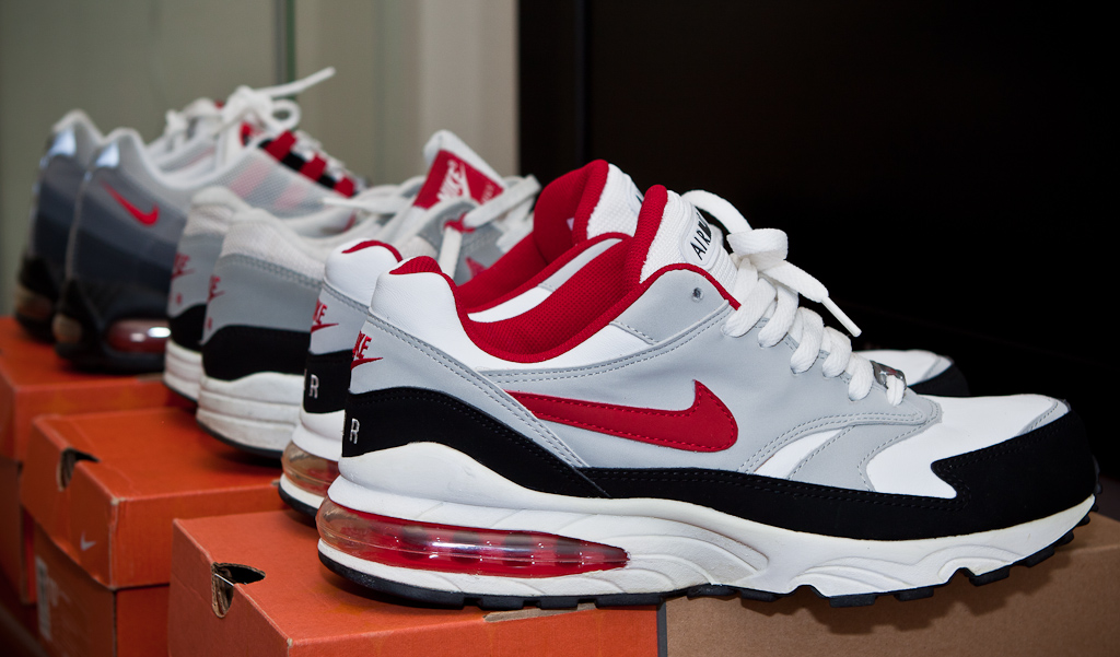 finest selection ddeba a1d53 ... free shipping air max varsity red burst 1987 1995 by timbertooth f494c  b8101