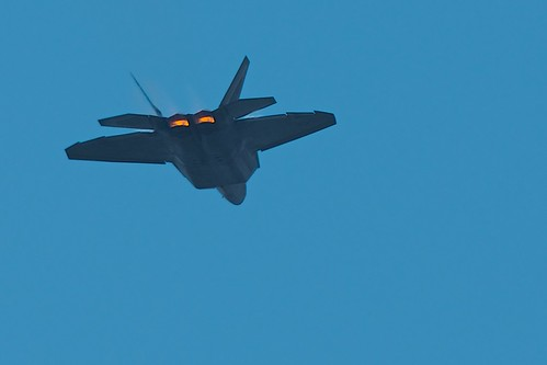 USAF F-22A Raptor - After Burners | by votaaj