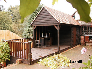 A Phoenix Premium Workshop in Loxhill | by Phoenix Timber Buildings