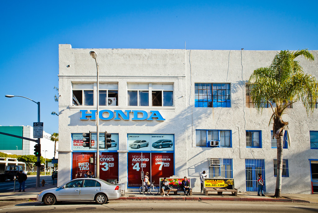 ... Honda Of Downtown LA Store Front   07 | By Tier10 Marketing