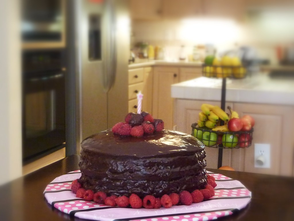 Happy Birthday Gf Vegan Chocolate Cake Gabriel Grimes Flickr