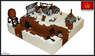 Lego ww2 -Russian Trench- | by =DoNe=