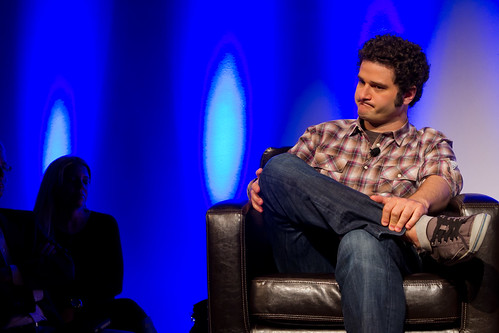 PandoMonthly - May 2012 - Sarah Lacy interviews Dustin Moskovitz | by thekenyeung