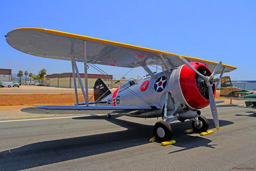 1939 Grumman F3F-2 Carrier Based Fightr | by charles25001
