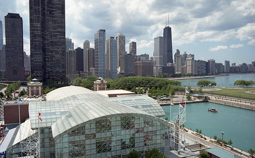 Chicago from the Ferris Wheel at Navy Pier | by MrDAT