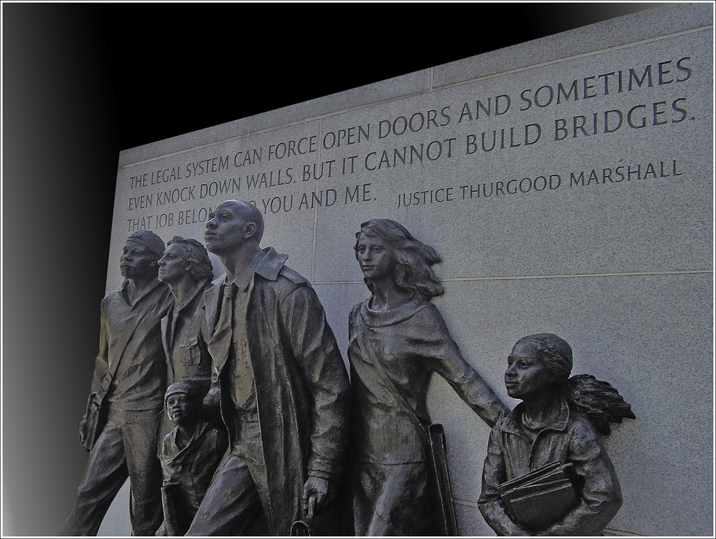 Thurgood Marshall Quotes Virginia Civil Rights Memorial  State Capitol Grounds Ri…  Flickr