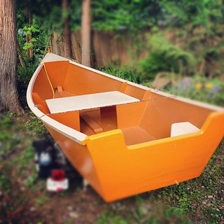 Meet Odie, our new rowboat | by fog and swell