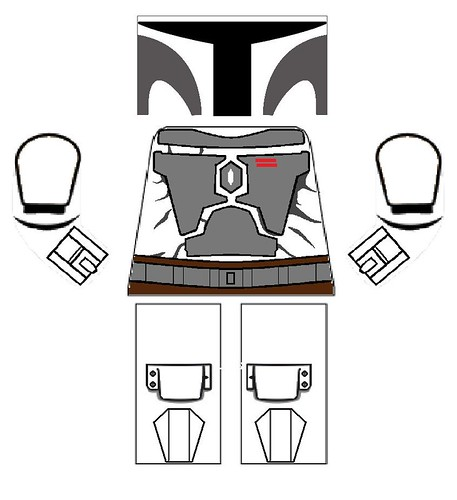CW Mandalorian Decal template 3 | by 864th Legion Customs