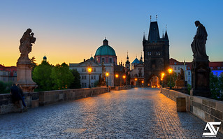 Sunrise in Prague | by A.G. Photographe