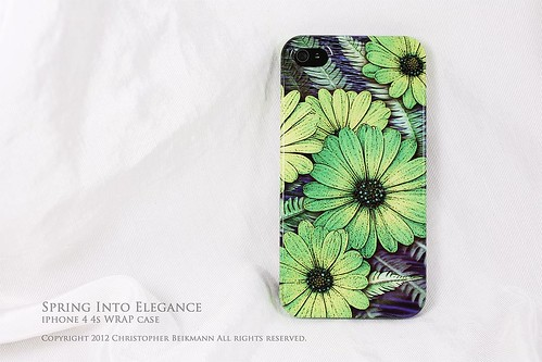 Spring_Into_Elegance_iPhone4_4s_WRAP_Case1 | by ancientartizen