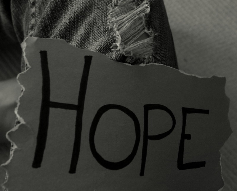 Tattered Hopes In Black And White >> Hope In The Tattered Places Still In The Sea Flickr