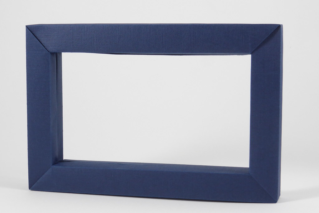 Single Sheet Picture Frame Origami Picture Frame Folded F Flickr