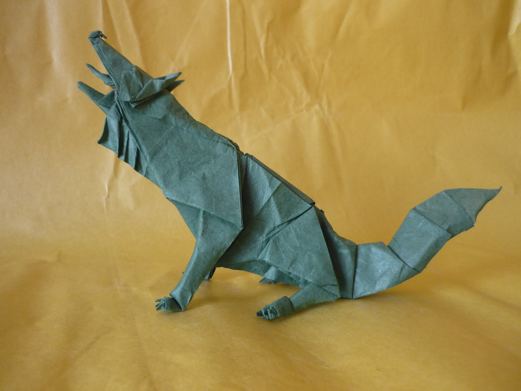 Gray Wolf Designed By Quentin Trollip