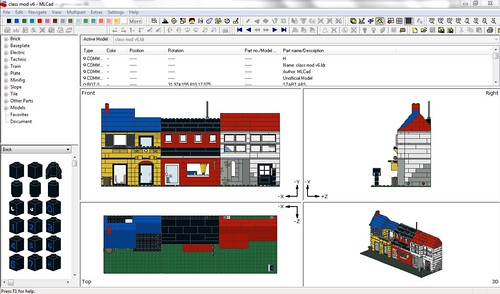 Classic LEGO modular | The planning phase took quite a ...