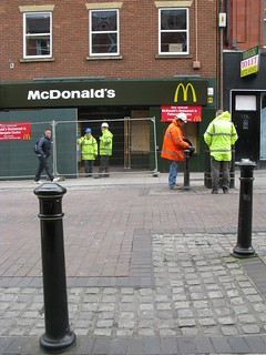 McDonald's in Friargate is still closed down after the fire | by George D Thompson