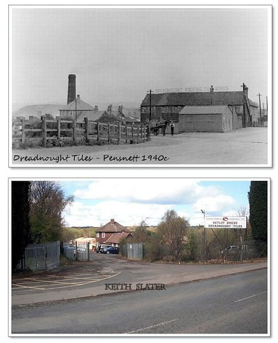 Pensnett Dudley West Midlands Then And Now 200