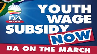 Youth Wage Subsidy Now | by The Democratic Alliance