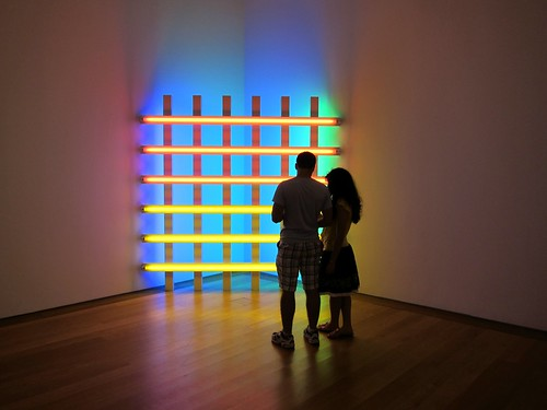 Dan Flavin at the Morgan Library | by Scoboco