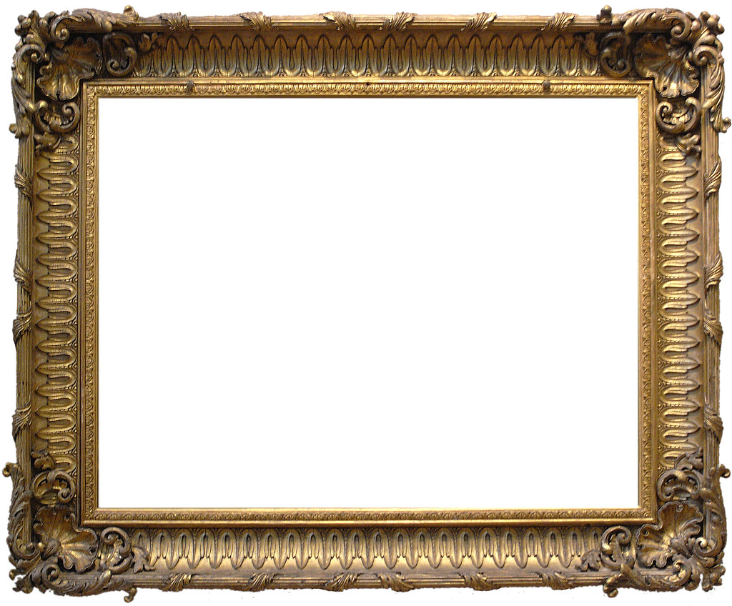 Frame 16 - Ornate Gold   Please use this object or texture i…   Flickr
