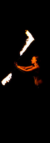 Fire Spinning 14 - University Of Plymouth, UK | by Janicskovsky