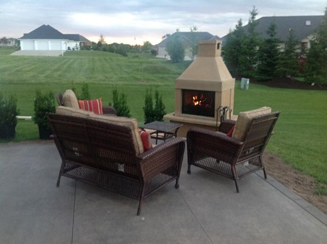 Perfect Outdoor Fireplace BBQ Edition | Dan in Wisconsin rec… | Flickr