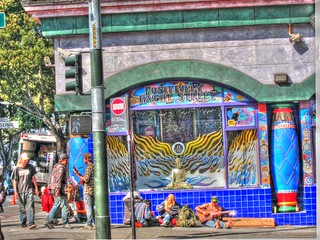 Positively Haight Street, Handheld HDR, Grunge Style | by Walker Dukes
