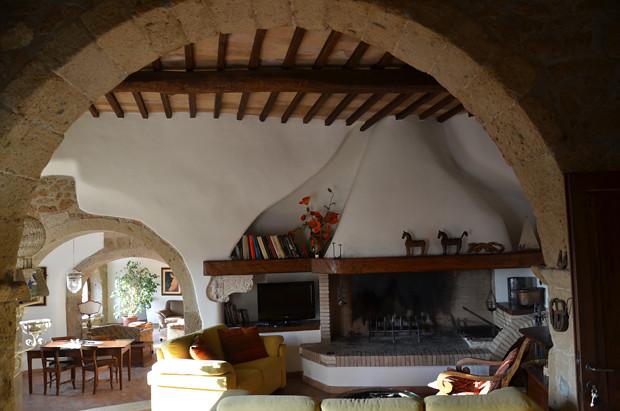 Casa degli Archi, Pitigliano, Maremma, Toscana, Italia