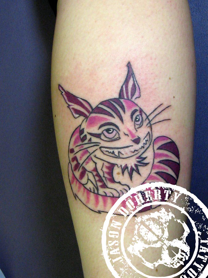 Cheshire Cat Tattoo Alice In Wonderland Tattoo Cheshire C Flickr