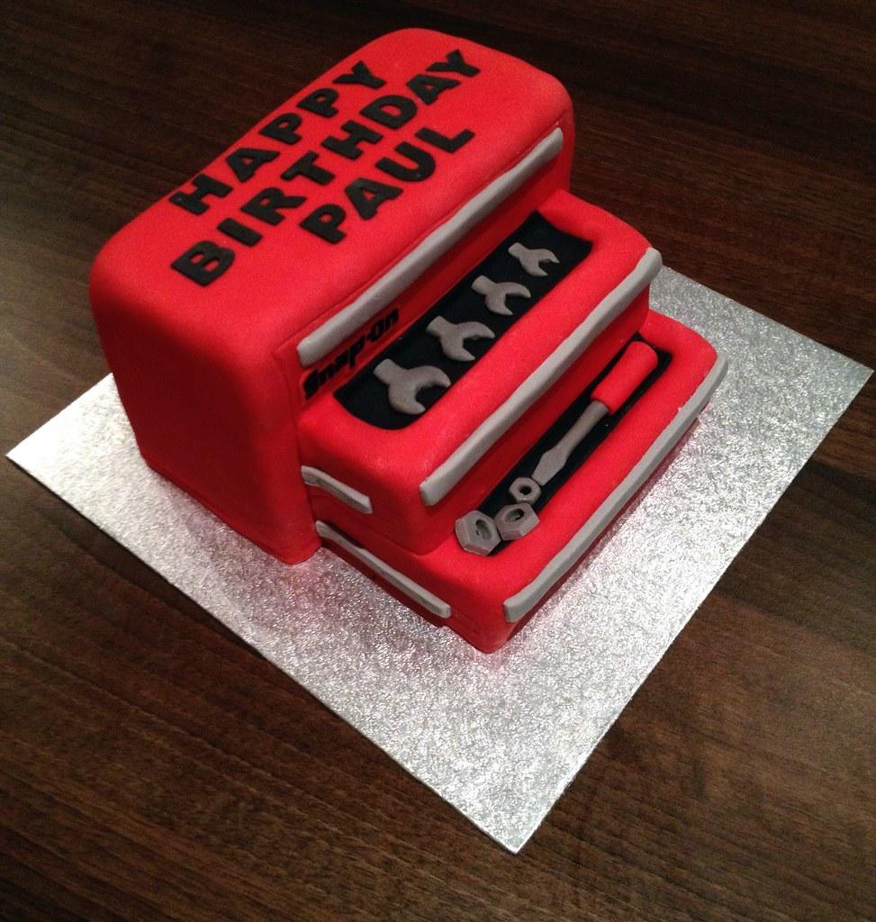 Snap On Toolbox Birthday Cake Andrea Flickr