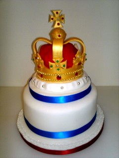 Queens jubilee crown cake | by Lorna McAtear