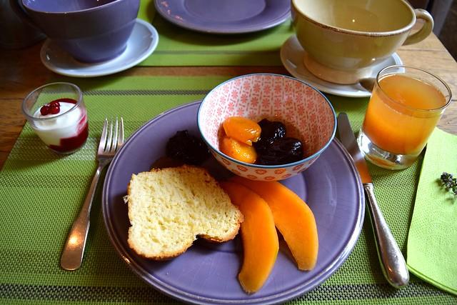 Breakfast at Manoir de Malagorse | www.rachelphipps.com @rachelphipps
