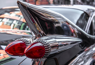 Tail Fin & Bullet Lights in Little Italy | by Bob Jagendorf