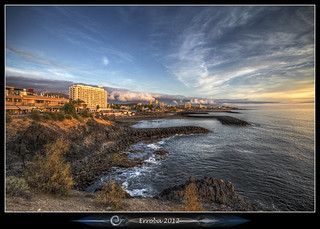 Playa De Las Americas :: Sunset :: Tenerife | by Erroba