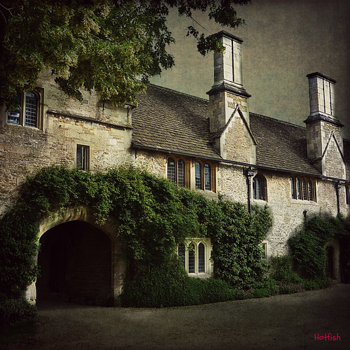 Chalfield Manor Courtyard | by Hotfish