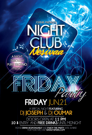 Night Club Party Flyer Template | Download- Graphicriver.Net… | Flickr