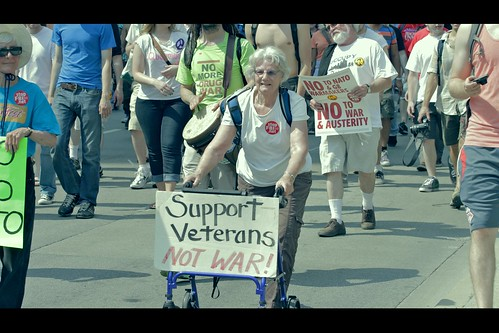 Older Protester | by vonderauvisuals