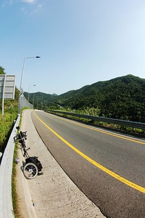 puncture at the high speed highway | by gu@n