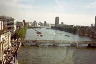 A view from the London Eye. July 2001. | by Geoff Davis2