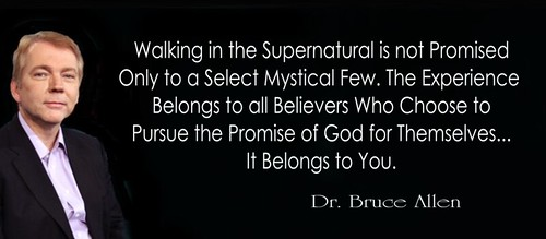 Dr. Bruce Allen On Walking In The