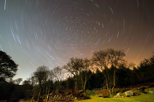 Star Trails over Dartmoor | by jamesgray599